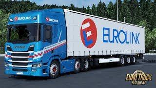 Download ✅ [ETS2 1.31] Next Gen Scania Eurolink Skinpack Video