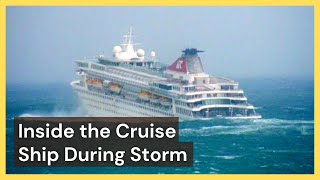 Download Inside the Cruise Ship During Storm Video