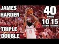 Download James Harden 40 Point Triple Double | Back to Back Games | 01.10.17 Video