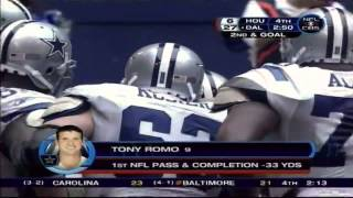 Download Tony Romo's first official snaps in the nfl called by Brad & Charlie Video