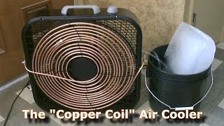 Download Homemade AC - The ″Copper Coil″ Air Cooler! - (Simple ″Box Fan″ Conversion) - Easy DIY Video