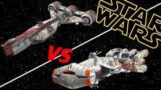 Download CR90 Rebel Corvette vs Republic Consular Cruiser | Star Wars: Who Would Win Video