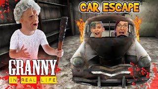 Download Granny Car Escape In Real Life! Horror Game (FUNhouse Family) Video