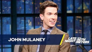 Download John Mulaney Bumped Seth Meyers for Steve Martin Video