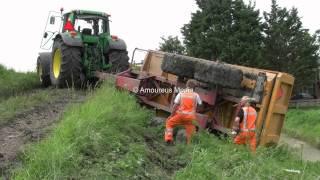 Download Tractorbestuurder heeft zijn dag niet Video