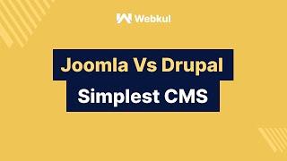 Download The simplest CMS - Joomla Vs Drupal Video