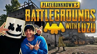 Download Playing PUBG With Luzu!! | Gaming with Marshmello Video