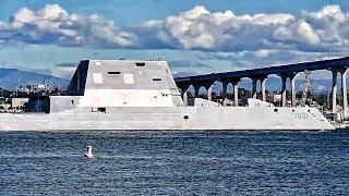 Download Zumwalt-Class Destroyer • The Strange Looking ″LEGO″ Ship Video