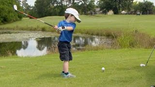 Download Is This 3-Year-Old Golf Prodigy the Next Tiger Woods? | Nightline | ABC News Video