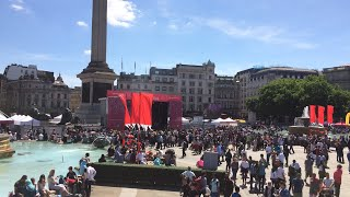 Download Eid 2017 Festival Live from London Trafalgar Square Video