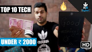 Download Top 10 Tech Under Rs. 2000 - Budget Shopping List Video