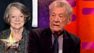 Download Sir Ian McKellen Does An Amazing Maggie Smith Impression - The Graham Norton Show Video