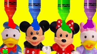 Download Mickey Mouse Clubhouse Friends Learn Colors and Opposites Video