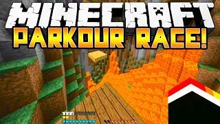 Download Minecraft - SPEED PARKOUR RACE! - w/Preston, BajanCanadian & Vikkstar! Video
