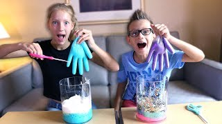 Download MYSTERY BOX of SLIME GLOVES CHALLENGE!!! Video