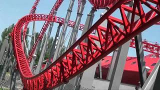 Download iSpeed Roller Coaster POV - Front Seat - Mirabilandia, Italy Video