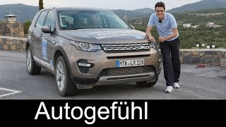 Download All-new Land Rover Discovery Sport HSE FULL REVIEW with offroad test driven - Autogefühl Video