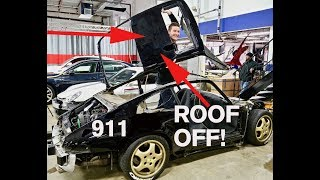 Download Why Cut Off a 911 ROOF? Video