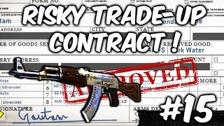 CS:GO - StatTrak AK-47 Bloodsport FN Trade Up #2 - Road To