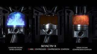 Download MAZDA SKYACTIV-X SCCI Engine (SPARK CONTROLLED COMPRESSION IGNITION) ► How Does It Work? Video