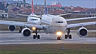Download Plane Spotting at Istanbul Ataturk, IST - Busy Evening Departures | 06/11/18 Video