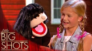 Download 12yr old ventriloquist takes control of little Dawn | Little Big Shots Video