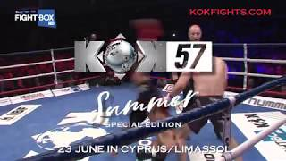Download KOK SUMMER SPECIAL EDITION IN CYPRUS ! THIS SATURDAY ❗️ LIVE on KOKFIGHTS.TV & FightBOX Video
