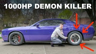 Download Driving My Friend's 1000HP+ Hellcat!!! DEMON KILLER?? Video