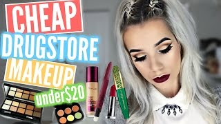 Download BEST AFFORDABLE DRUGSTORE MAKEUP Gold Eyes Berry Lips! Video