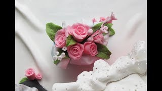 Download How to Make Quick and Easy Fondant Roses and Filler Flowers | No Cutters Video