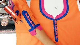 Download Beautiful matching neck and sleeves potli design Video