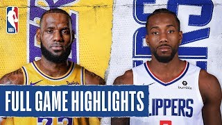 Download LAKERS at CLIPPERS | Kawhi Drops 30 In Clippers Debut | Oct. 22, 2019 Video