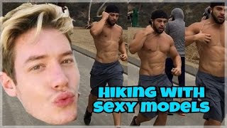 Download HIKING WITH SEXY MODELS! Video