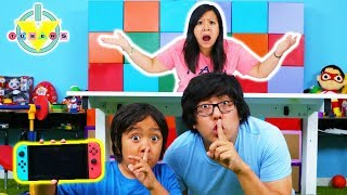 Download MOM STOLE RYAN'S VIDEO GAMES ! Ryan's Mommy hides video games from Ryan & Daddy! Video