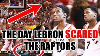 Download The Day The Raptors Became SCARED of LeBron James In The NBA Playoffs Video