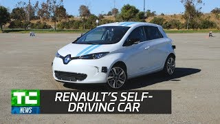 Download Renault's self-driving car avoids obstacles as well as pro drivers Video