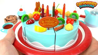 Download Let's Make our own Toy Birthday Cake! Video