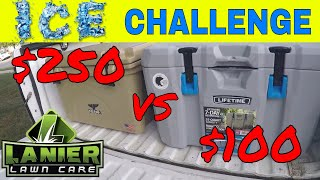 Download Orca Cooler vs Lifetime Cooler, Ice Retention Challenge Video