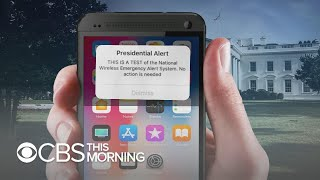 Download Americans to receive cellphone alert from president in 1st national test Video
