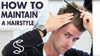 Download How to maintain a hairstyle ★ Undercut and volume ★ Men's hair inspiration by Slikhaar TV Video
