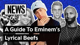 Download A Timeline Of Eminem's Lyrical Beefs | Genius News Video