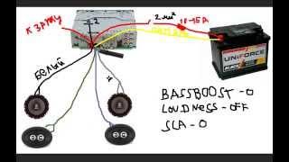 Download Как подключить и настроить магнитолу (ГУ) Video