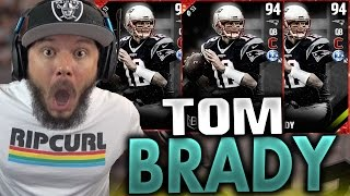 Download 94 OVERALL TOM BRADY!! WELP WE GOT HIM - MADDEN 17 ULTIMATE TEAM PACK OPENING Video