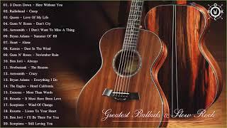 Download Acoustic Rock   Greatest Ballads & Slow Rock Songs 80s - 90s Video