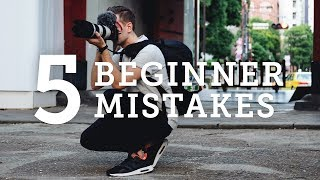 Download 5 BEGINNER PHOTOGRAPHY MISTAKES + How to Solve Them! Video