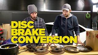 Download Drum to Disc Brake Conversion DIY Video