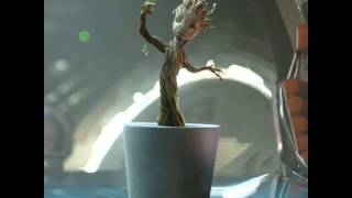 Download Music Video: Baby Groot Dancing to Jackson 5 - I Want You Back Video
