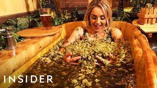 Download Bathing in Beer + Experimental Ice Cream   Travel Dares Ep 6 Video