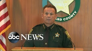 Download School officer stood outside for 4 minutes doing 'nothing' during massacre: Sheriff Video