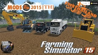 Download Farming Simulator 2015 #Map Les petits travaux/Construction/sand/dirt/gravel/Beton Video
